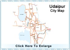 Udaipur City Map Udaipur Map  Map of Udaipur, Udaipur City Map, Udaipur Travel Maps